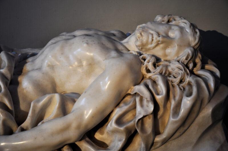 Le christ au tombeau – Tête
