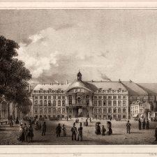 Représentation du Palais des princes-évêques - Degobert