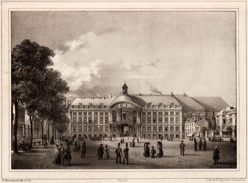 Représentation du Palais des princes-évêques – Degobert