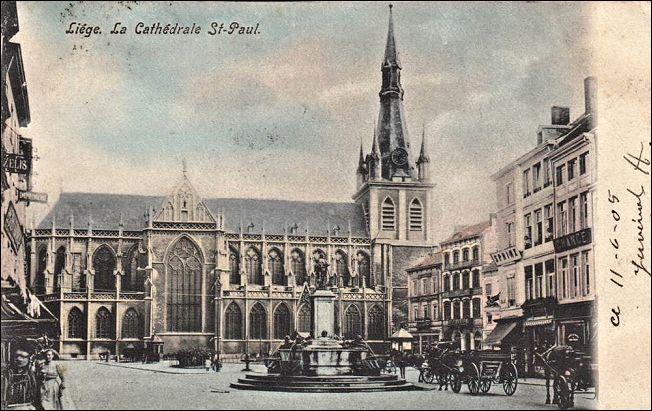 cathédrale st-paul 1905
