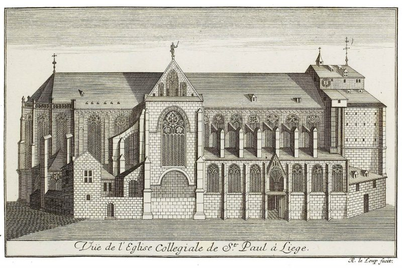 collégiale st-paul 1738