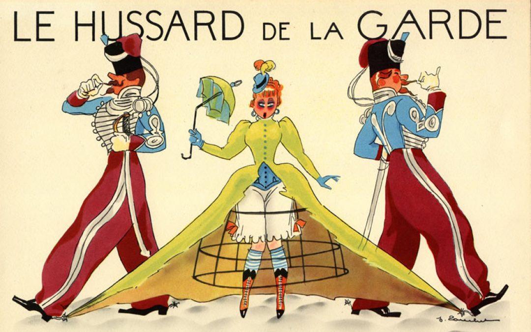 Le Hussard de la garde